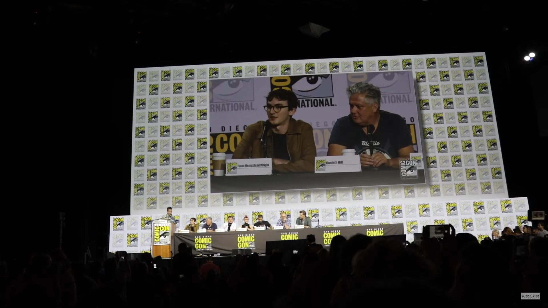 Comic-Con panel Game of Thrones at San Diego.