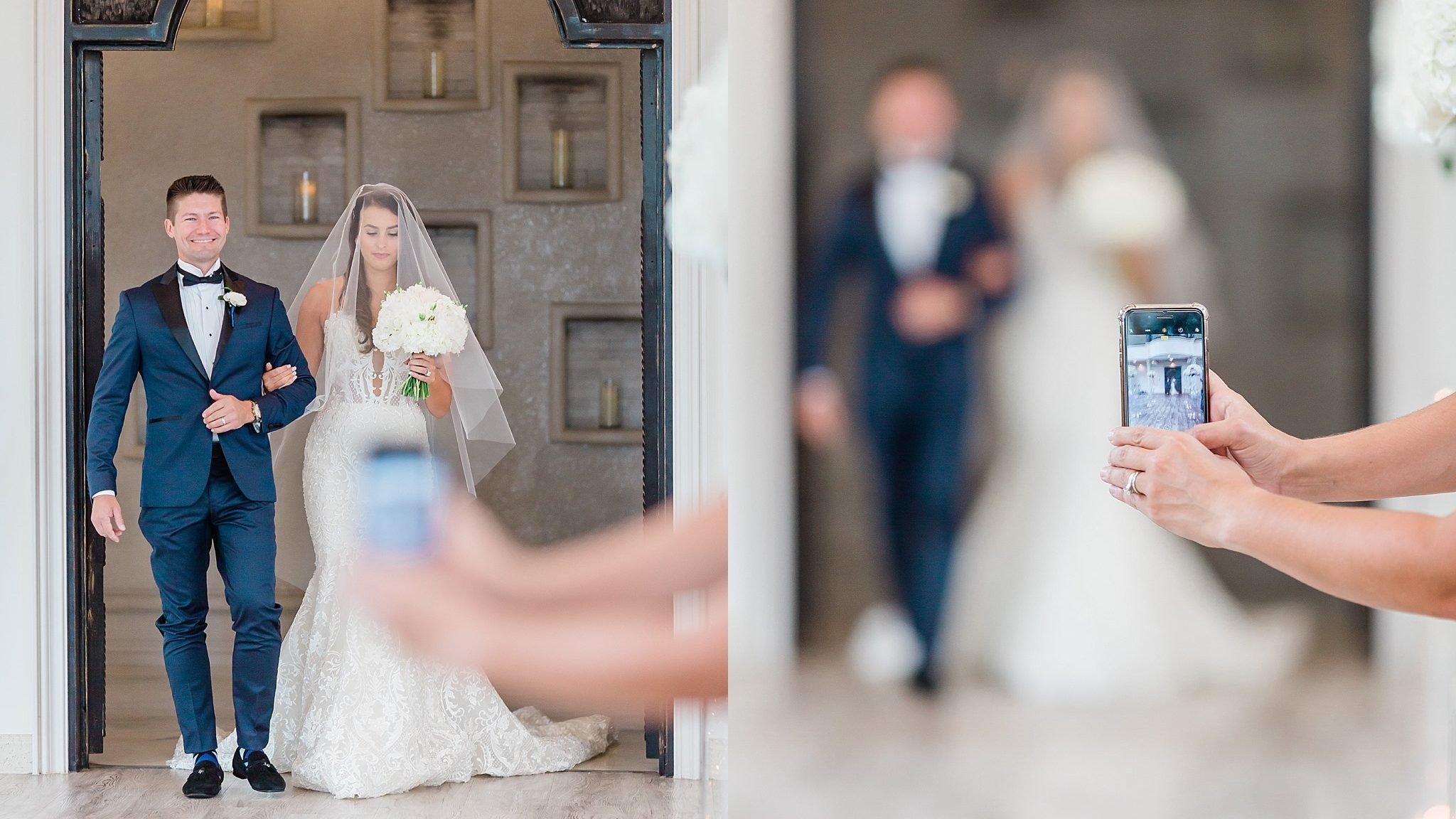 Wedding photos ruined by a woman with her iPhone