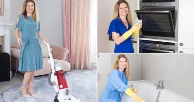 Mother-Of-Three Become An Internet Sensation With A Super-Speedy Cleaning Solution