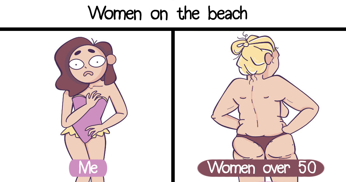 Artist's 40 Illustrations Depict Girls' Everyday Problems In A Hilarious Way
