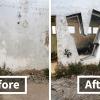 Graffiti Artist Makes Walls Transparent Using Nothing But Spray Paint