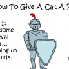 10-Step Hilarious Yet Legit Guide Explaining How To Make A Cat Take A Pill