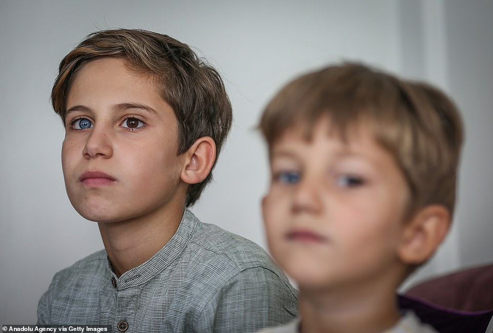Brothers Are Born With Different Coloured Eyes And They Look Gorgeous
