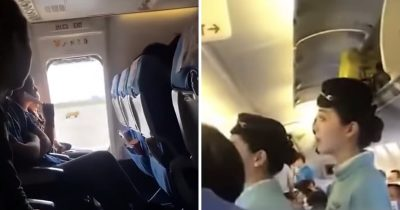 Chinese Woman Opens Plane's Emergency Door For 'Fresh Air'