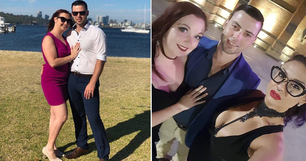 Married Couple Fell In Love With Another Woman And Became A Happy Trio