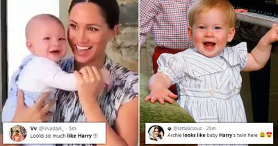 'It's Like Harry's Twin!' Fans Say Baby Archie Looks Just Like His Dad