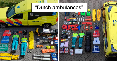 What The Inventories Of Several Emergency Services Look Like Across The World