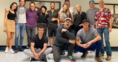 James Gunn and his cast went to watch Joker.
