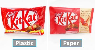 KitKat Japan Is Dumping Plastic Packaging For Paper Which You Can Fold Into Origami