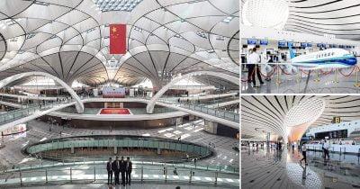 Mega Airport Beijing Daxing International Airport