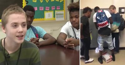 Two Memphis Students Handed Their Clothes To A Freshman After He Bullied For Wearing Same Thing Daily