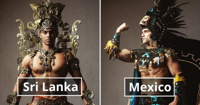 Mister Global 2019 Candidates In Their Traditional Outfits Look Like Video Game Bosses