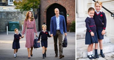 Princess Charlotte First Day Of School Is Filled Smiles!