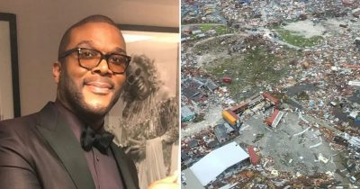 Tyler Perry sent his personal plane to send help, aid and bring people back from the Bahamas.