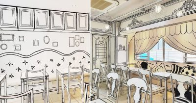 This Unique Cafe In Tokyo Will Make You Feel Like You Entered Into A Cartoon World