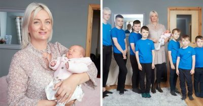 Mother Finally Got A Baby Girl After Giving Birth To 10 Boys In A Row