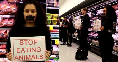Angered Shoppers Lash Out At Vegan Protesters Who Raided Auckland Supermarket