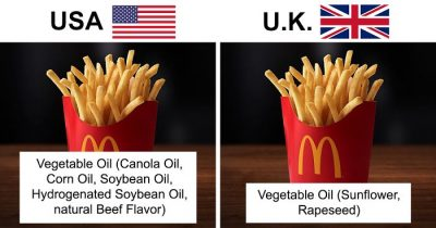 Woman Makes List Of Ingredients Of US And UK Products, And The Difference Is Shocking