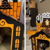 Target Is Selling Mini Haunted Houses For Cats And They're Purrfect For Halloween