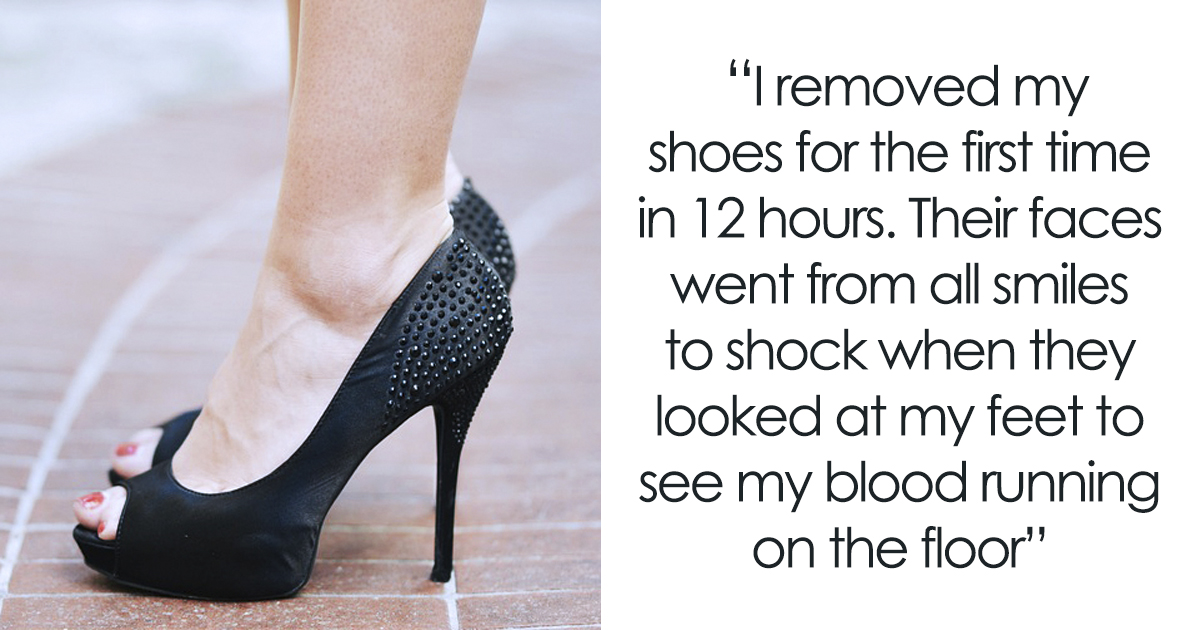 Woman Lets Blood Runs Down The Floor In Front Of Managers To Prove New Dress Code Is No Good