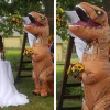 Maid Of Honor Dressed As T-Rex Crashes Her Sister's Wedding