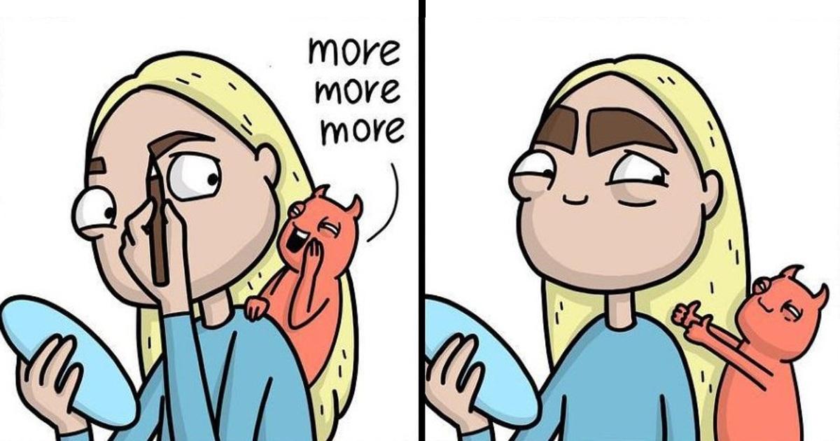 Artist Shows Little Annoying Girl Issues Through Her 40 Hilarious Comics