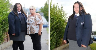 Schoolgirl, 14, Banned From Classroom Because She Is Too Big For Uniform