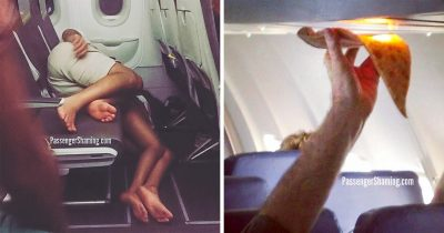 Passengers captured by ex-flight attendants shows the weirdest things people can do in long flights.