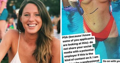 A 24-Year-Old Applied For A Job But Company Called Her 'Unprofessional' For Posting Bikini Photos And It Backfired