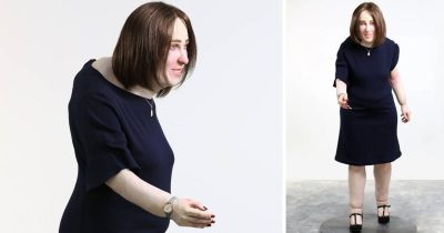 This Creepy Life-sized Doll Shows What Office Workers Might Look Like In 20 Years