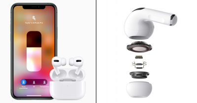 Apple Unveils New $249 AirPods Pro With Active Noise Cancellation
