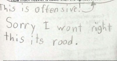 Girl, 10, Who Refused To Answer 'Rude' Test Question Applauded For Brilliant Reply