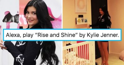 Kylie Jenner Singing Rise And Shine To Stormi Sparks Hilarious Memes