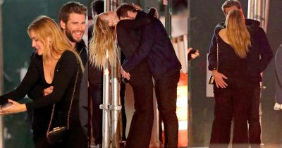 Liam Hemsworth Passionately Kisses New Australian Girlfriend Maddison Brown On A Romantic Date