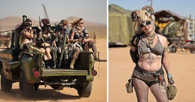 Over 4,000 Mad Max Fans Gather In California Desert For Wasteland Weekend