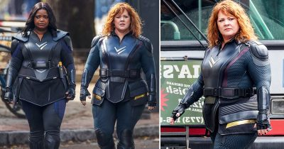 Melissa McCarthy And Octavia Spencer Stun On Set Of 'Thunder Force' To Save The World