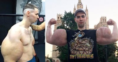'Popeye' Bodybuilder With Huge Biceps Got Thrashed On His MMA Debut In Just 3 Minutes