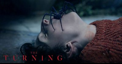 Watch Finn Wolfhard turns creepy and evil in 'The Turning' trailer.