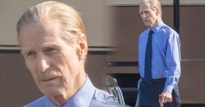 New set pictures of 'Black Widow' reveals William Hurt.