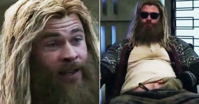 Will Thor sports his new fat look for 'Thor: Love and Thunder'?