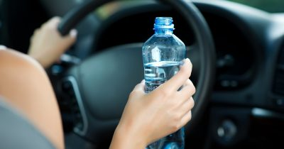 Amazed Driver Was Pulled Over And Fined $173 For Drinking Water Behind The Wheel