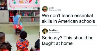 Teacher Shows Kids How To Wipe Their Butts Correctly And People Are Liking It