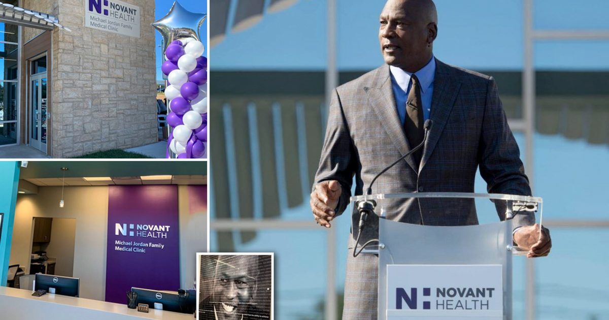 NBA Legend Michael Jordan Donated $7 Million To Open Health Clinics For The Uninsured