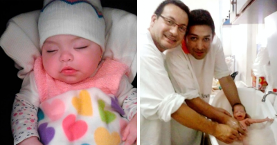 Gay Couple Adopted A Baby Girl With HIV Who Was Rejected By 10 Families Before