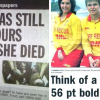 40 Hilariously Worst Newspaper Headlines Of All Time