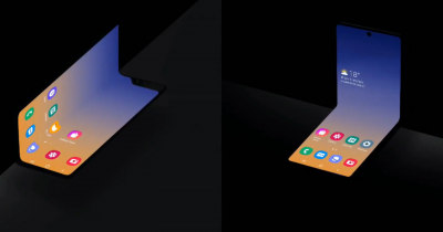 Samsung releases a new concept for foldable phone.