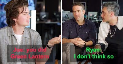 Ryan Reynolds Denies Starring In 'Green Lantern' Completely As He Walks Out From Interview