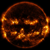 NASA Shares A Photo Of The Sun That Looks Like It Already Celebrating Halloween