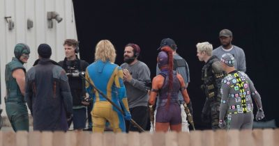 New set pictures of James Gunn's total reboot of 'The Suicide Squad'.