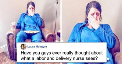 'She's Gonna Punish Me For This Pic': Sister Revealed The Gritty Facts Of Her Twin's Life As A Nurse